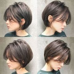 Hairstyles & arrangements for long hair and short hair look fashionable - New Hair Styles hair styles Hairstyles & arrangements for long hair and short hair look fashionable Trending Hairstyles, Short Bob Hairstyles, Popular Hairstyles, Hairstyle Short Hair, School Hairstyles, Hairstyle Ideas, Japanese Short Hairstyle, Japanese Haircut, Short Hair Makeup