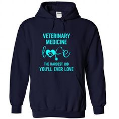 I Love Veterinary Medicine T Shirt T shirts