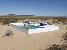 swimming pools in remote locations