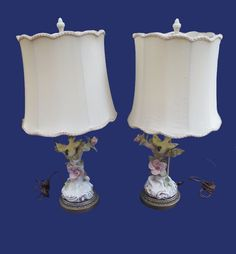 These 1940s Cordey Bird Lamps with Original Shades are CERTAIN to bring a little light to your life. Turn 'em on at Antique Beak on Ruby Lane.