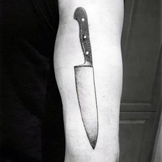 cooking knife tattoos - Google Search
