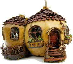 Miniature Fairy Garden Cottage