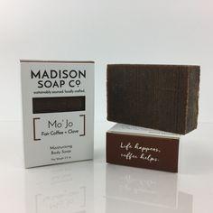 Mo' Jo, Coffee + Clove Moisturizing Body Soap