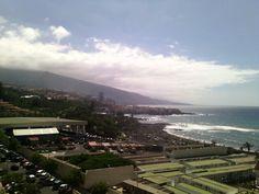 Playa Jardin. Puerto de la Cruz