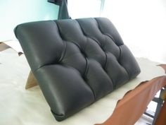 LEATHER UPHOLSTERY-Diamond-Tufting Designs