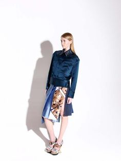 #print #details #metall #gold #girl Duster Coat, Stylists, Textiles, Denim, Fabric, Gold, Jackets, Beautiful, Collection