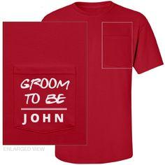 Groom To Be Unisex Port & Company Essential Pocket Tee Team Groom, Pocket, Unisex, Tees, Wedding, Design, Fashion, Valentines Day Weddings, Moda