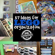 More LEGO organization ideas