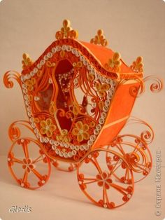 #papercraft #quilling: Handicraft product coach Paper Quilling Photo 1