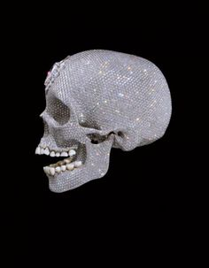 """Image 2 of 3 from gallery of Damien Hirst Receives Planning Permission for """"Hirst-on-Sea"""". """"For the Love of God"""", Image Courtesy of Damien Hirst Memento Mori, Damien Hirst, Le Choc Des Titans, Crane, John Rankin, Diamond Skull, Human Skull, Vanitas, Skull And Bones"""