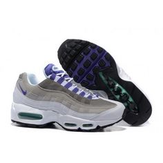 buy popular f3670 7f8eb Mens Nike Air Max 95 Essential Gray Purple White Shoes Buy Nike Shoes,  Men s Shoes