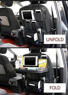 Picture 4 of 10 Mobile Office, Car Upholstery, Car Gadgets, Van Camping, Car Storage, Car Hacks, Sprinter Van, Ford Transit, Car Cleaning