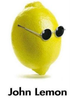 Funny pictures about John Lemon. Oh, and cool pics about John Lemon. Also, John Lemon photos. Band Puns, Amor Humor, John Lemon, Music Puns, Funny Music, Funny Fruit, Funny Food, Lighten Skin, Humor Grafico