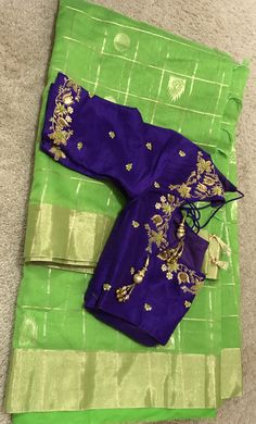 Pattu Saree Blouse Designs, Fancy Blouse Designs, Bridal Blouse Designs, Maggam Work Designs, Stylish Blouse Design, Designer Blouse Patterns, Sumo, Maggam Works, Work Blouse