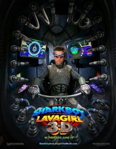The Adventures of Sharkboy and Lavagirl in Movie Poster Comic Book Characters, Comic Books, Fictional Characters, Girl Posters, Movie Posters, Sharkboy And Lavagirl, Metal Magazine, Geek Art, Action Movies
