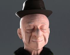Mr Magoo, Character Design Animation, Zbrush, Behance, 3d, Gallery, Check, Animated Cartoon Characters