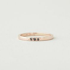17 Non-Traditional Black Engagement Rings via Brit + Co.