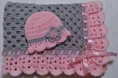 This beautiful hand crocheted