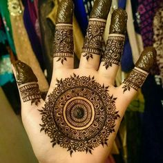 The most popular and unique Black Henna Designs for hands is present on this page. Hope you people like those designs and try them in Mehndi Designs 2018, Modern Mehndi Designs, Mehndi Designs For Girls, Henna Art Designs, Mehndi Designs For Beginners, Wedding Mehndi Designs, Beautiful Mehndi Design, Arabic Mehndi Designs, Tattoo Designs