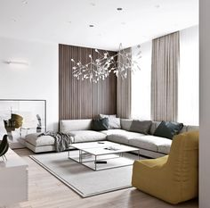 25 Minimalist And Modern Apartment Living Room Design Ideas Minimalist Living Room Apartment Design Ideas Living Minimalist modern Room Living Room Colors, New Living Room, Interior Design Living Room, Cozy Living, Design Interiors, Color Interior, Kitchen Interior, Kitchen Design, Modern Apartment Design
