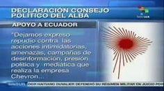 #ALBA declara su apoyo a #Ecuador en caso Chevron
