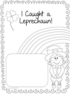 FREEBIE! St. Patrick's Day creative writing activity