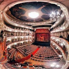 Mikhailovsky theatre at its best! #stpetersburgguide #mikhailovskytheatre #михайловскийтеатр #михайловский #sanpetersburg #питер #piter… Great Comet Of 1812, The Great Comet, Theatre Architecture, Classical Architecture, Theatrical Scenery, St Petersburg Russia, Best Architects, Concert Hall, Places To See