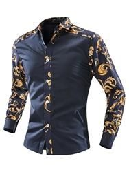 New Brand Men Shirt Long Sleeve Casual Shirts Slim Fit Mens Dress Shirts Print Camisa Social Masculina Camisas Chemise HommeItem Type: ShirtsGender: MenModel Nu Slim Fit Dress Shirts, Fitted Dress Shirts, Dress Shirt Sizes, African Shirts, African Wear, African Men Fashion, Mens Fashion, Fashion Outfits, Cheap Fashion