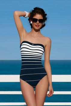 Lise Charmel, Lignes Maritimes Swimwear 2014, Bain 2014