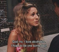 Image de sex and the city, alcoholic, and Carrie Bradshaw