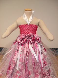 B-day dress inspiration for Kinley. Valentine Rag Tutu