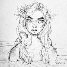 Arcadia's half sister (full blooded siren) - Kairi