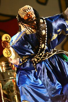 Gnawa.  I was at the Gnawa Festival when I first got to Morocco, so much fun, and the music is a blast