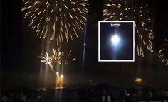 BRASIL: Família Captura em vídeo UFO, durante a Virada de Ano Novo (2015)