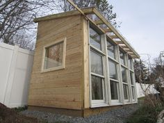 Relaxshacks.com: Update on the 6' by 12' Tiny Solar Cabin/Writer's Retreat....