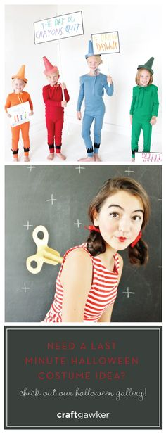 Halloween is only a few days away but there is still time to DIY your costume!