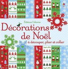 """En savoir plus sur """"Décorations de Noël à découper, plier et coller"""", rédiger un commentaire ou acheter."""