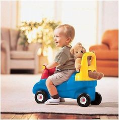 Little Tikes push ride on toys help kids with coordination and balance & promotes motor skills & muscle development. Toddler Toys, Baby Toys, Kids Toys, Little Tikes, Push Toys, Toys For 1 Year Old, Thing 1, Ride On Toys, Baby Center