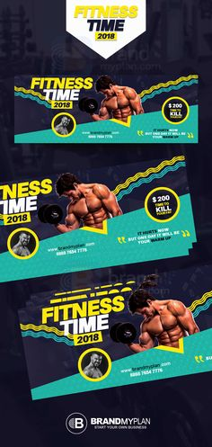 Fitness Card Faceboook Cover