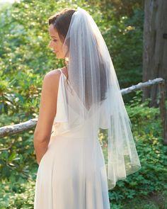 Bridal Veil Cut Edge Veil Simple Wedding Veil Veil for Simple Wedding Veil, Simple Veil, Wedding Veils, Simple Weddings, Wedding Dresses, Bridal Veils, Wedding Garters, Ivory Wedding, Wedding Reception