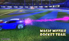 Acrobat-amp-Purple-Magic-Missile-Rocket-Trail-PC-Rocket-League-Steam Trail, Magic, Cars, Purple, World, Autos, Car, The World, Automobile
