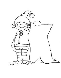 nisse coloring pages - photo#17