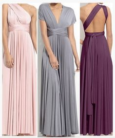 Infinity Dresses For Bridesmaids Same Colour Diffe Styles