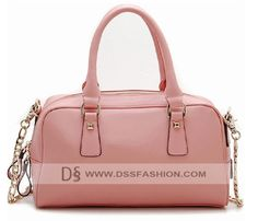 Light Pink Calf Leather Women Tote Bag