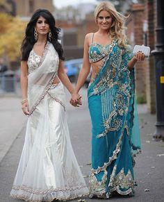 Billie Faiers and Ferne McCann attend Jasmin Walia's Diwali party Diwali Fashion, Indian Fashion, Women's Fashion, Indian Attire, Indian Outfits, Indian Clothes, Ceremony Dresses, Wedding Dresses, Wedding Ceremony