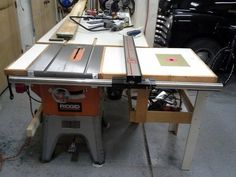 I Did This On My Ridgid Table Saw The Wing Gave Some Room