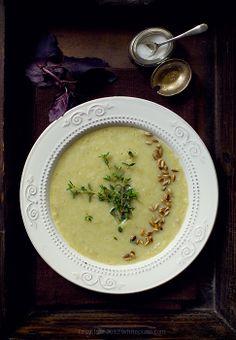 White Plate / zupa z kopru włoskiego