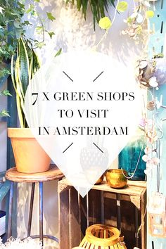 """Want to add some green to your house? Amsterdam has beautiful green shops! On travel blog http://www.yourlittleblackbook.me you can find out where these shops are located. Planning a trip to Amsterdam? Check http://www.yourlittleblackbook.me/ & download """"The Amsterdam City Guide app"""" for Android & iOs with over 550 hotspots: https://itunes.apple.com/us/app/amsterdam-cityguide-yourlbb/id1066913884?mt=8 or https://play.google.com/store/apps/details?id=com.app.r3914JB"""