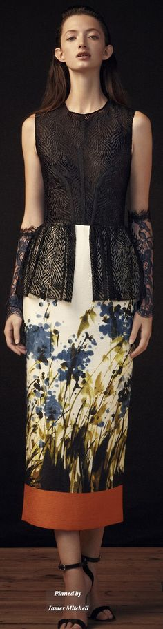 Sophia Kah Collection Spring 2015 Ready-to-Wear