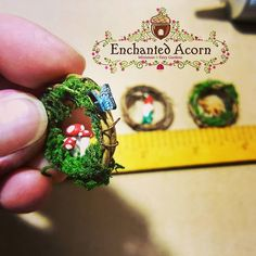 Working on some new little cuties!  . #crafty #imagine #create #lovewhatido #craftbusiness #etsyshop #fairy #fairygarden #miniature #mushrooms